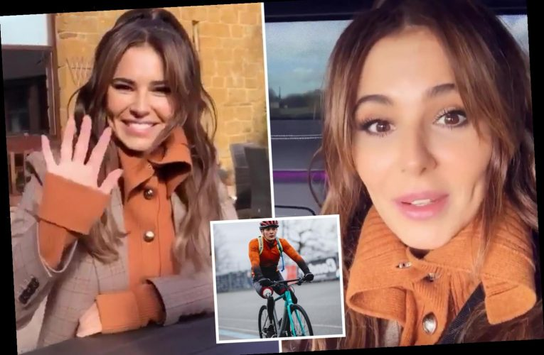 Cheryl makes first public appearance in 10 months to support Billy Monger's Comic Relief challenge