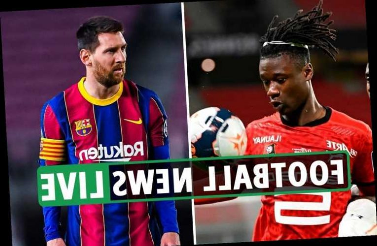 Messi to Man City latest, Man Utd's Camavinga update, Liverpool vs Everton news, Chelsea win, Arsenal, Tottenham updates