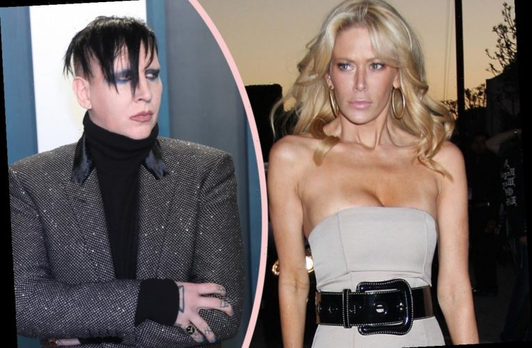 Jenna Jameson Says She Broke Up With Marilyn Manson Over 'Bruises' & Violent Talk