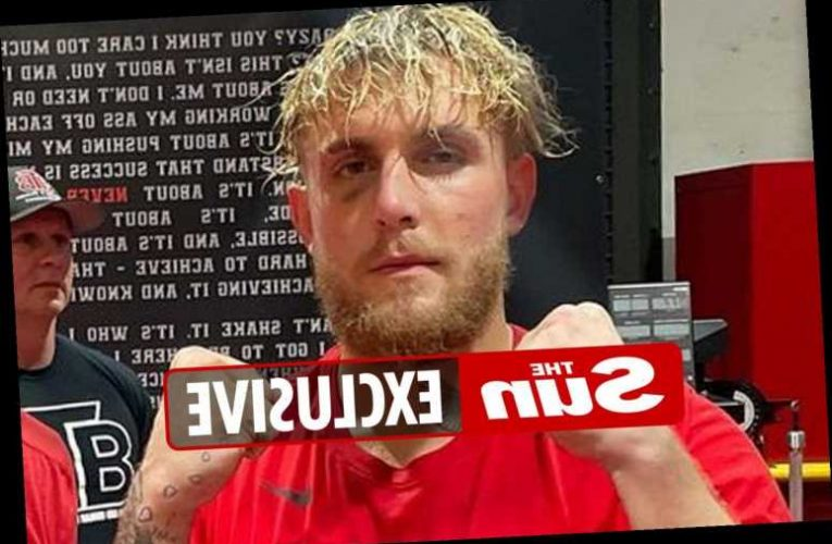 Jake Paul suffers black eye in sparring for Ben Askren fight and hints he'll have surgery on face if he's bashed up