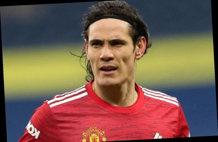 Man Utd boss Solskjaer confirms Edinson Cavani contract talks 'in near future' with striker's deal up at end of season