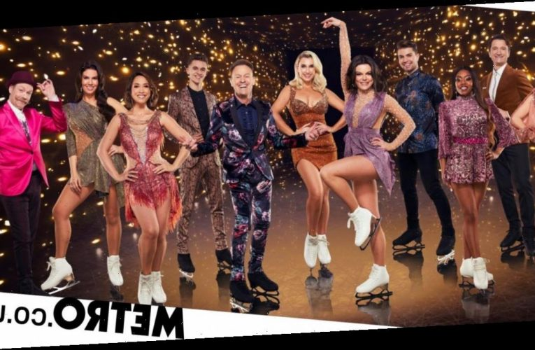 Who left Dancing on Ice 2021 during Movie Week?