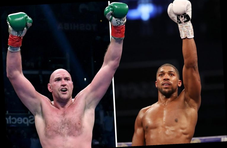 Anthony Joshua clash with Tyson Fury 'on the verge' of being announced with 'handful of issues to sort' this week