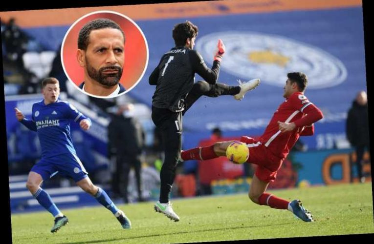 Alisson 'lacking confidence' and champs Liverpool will struggle to make top four, blasts Man Utd legend Rio Ferdinand
