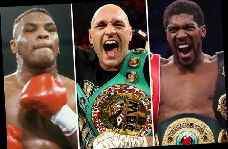 World's best fighters including Mike Tyson, Anthony Joshua, Tyson Fury and Conor McGregor split over boxing GOAT