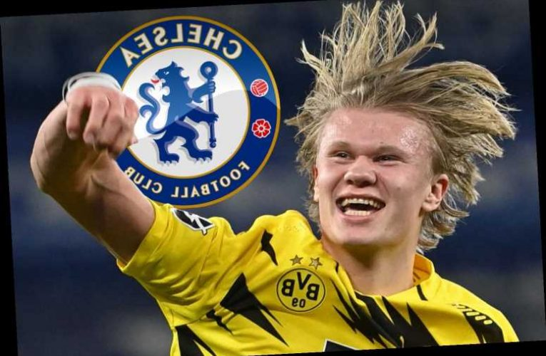 Chelsea and Man City leading Erling Haaland transfer race this summer with Dortmund demanding £150m for striker