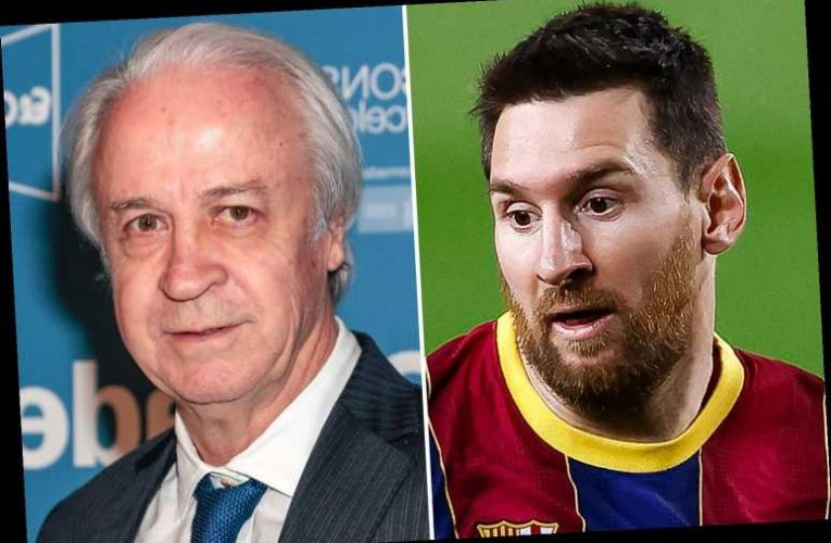 Barcelona open investigation into Lionel Messi contract leak and deny sharing details of record £492m deal themselves