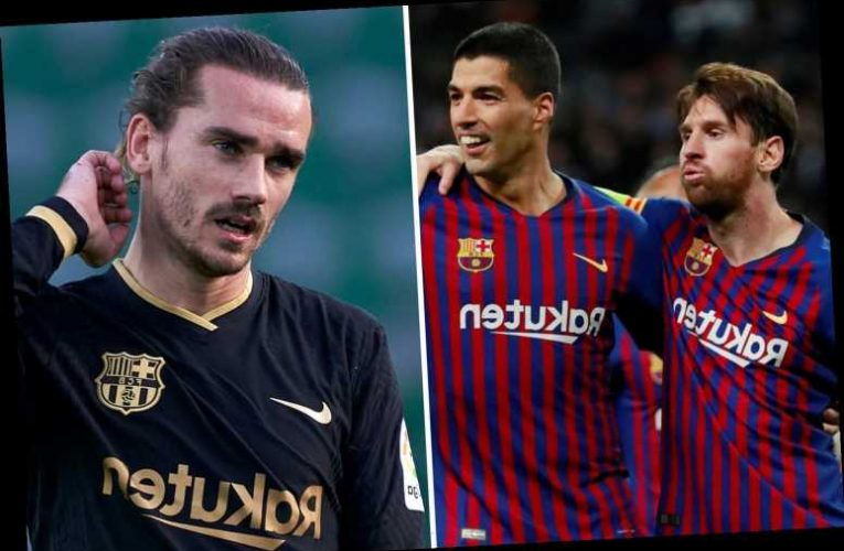 Luis Suarez denies claims he and Messi didn't get on with Griezmann and insists they did NOT run Barcelona dressing room