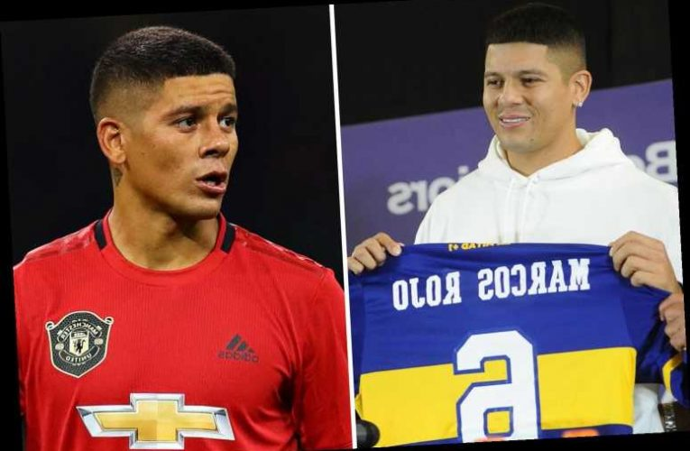 Ex-Man Utd star Rojo injured in FIRST Boca Juniors training session due to 'inactivity' after 15 months without a game