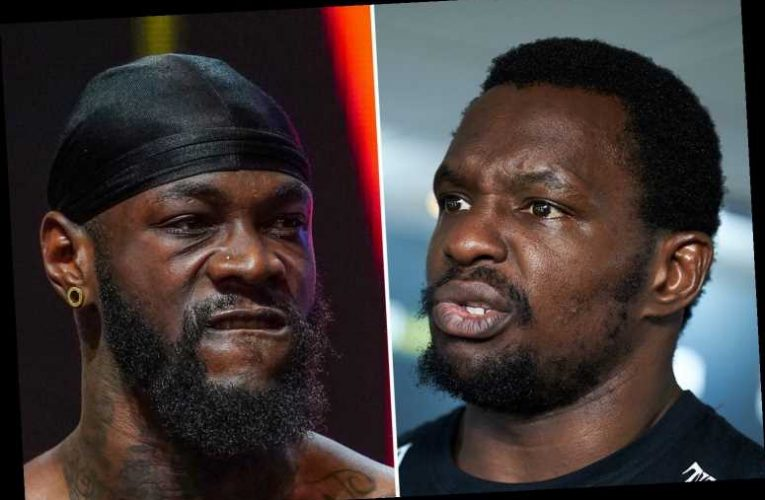 Whyte claims Deontay Wilder has 'nothing now' as he slams rival for losing title and failing to 'sell out arenas in US'