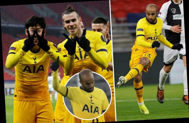 Wolfsberger 1 Tottenham 4: Gareth Bale gives glimpse of old self with goal and assist as Spurs take control of tie