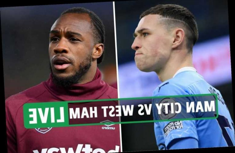 Man City vs West Ham LIVE: Stream FREE, TV channel, kick-off time, team news for TODAY'S Premier League clash