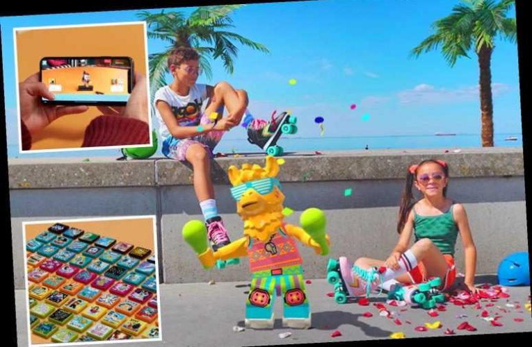 Kids and parents who dream of stardom can make it happen with Lego Vidiyo