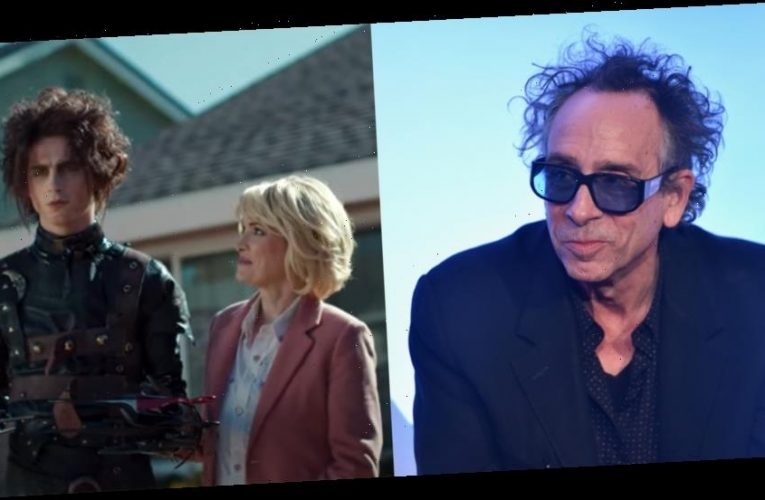 Here's What Tim Burton Thinks About Cadillac's 'Edward Scissorhands' Homage In Their Super Bowl Commercial