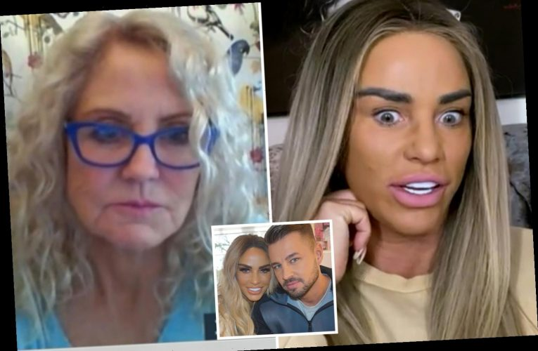 Katie Price told off by her mum live on Good Morning Britain after she vows to make boyfriend Carl her fourth husband