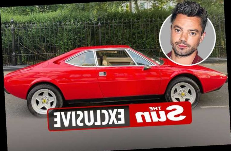 Dominic Cooper has FOURTH car stolen in a year as rare £83,000 Ferrari is nicked by thieves