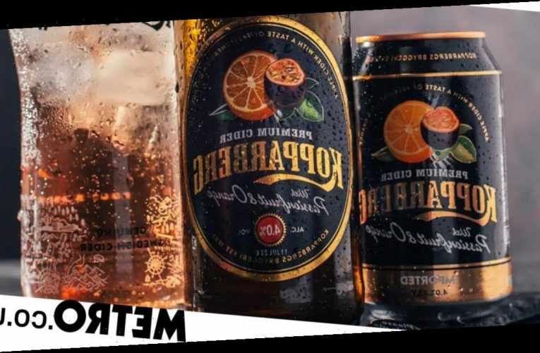 Kopparberg releases new passionfruit and orange flavour cider