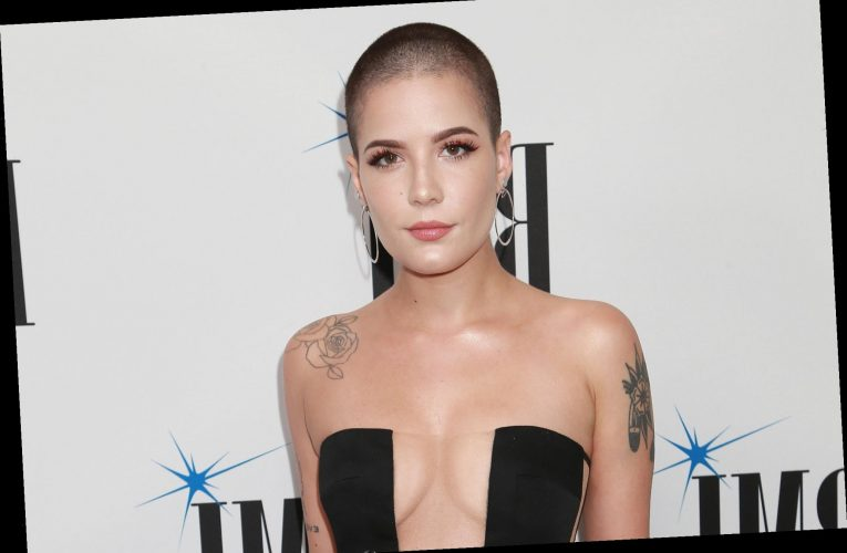 Halsey says she feels 'the most confident' when she's bald