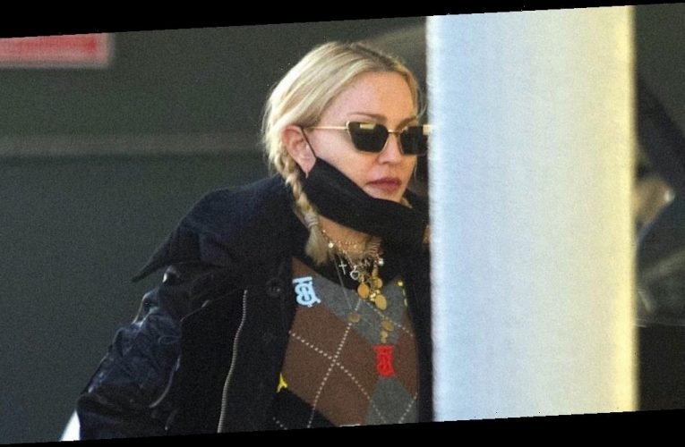 Madonna Wore the Nerdy Grandma Staple That's Actually Coming Back