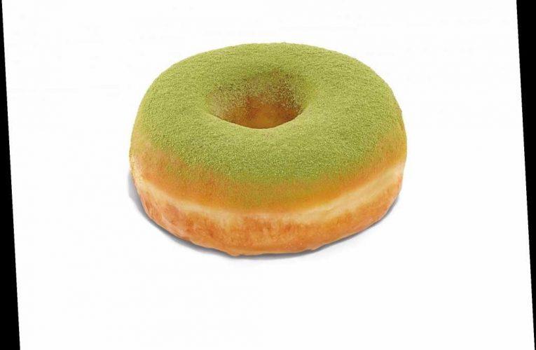 Dunkin' Debuts Matcha-Topped Donut and Blueberry Matcha Latte
