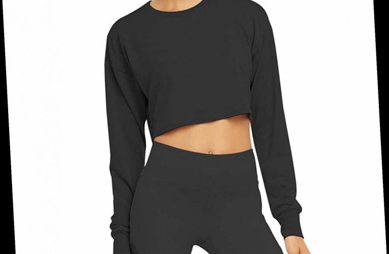 Thousands of Shoppers Love This Best-Selling Cropped Sweatshirt Thanks to One Hidden Feature
