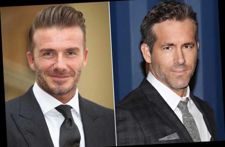 Ryan Reynolds Trades a NSFW Joke with David Beckham Over a 'Sore Wrist'