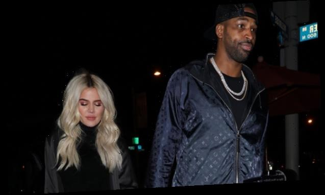 Khloe Kardashian Hints That Tristan Thompson Gave Her Balloons & Gorgeous Red Roses For V's Day