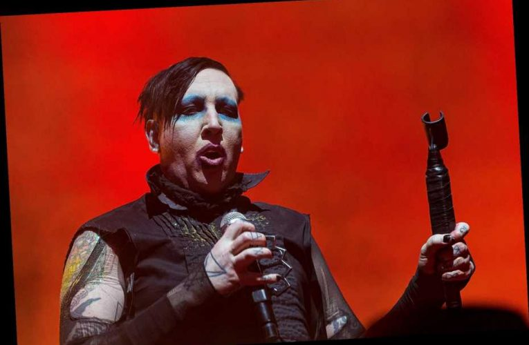Marilyn Manson Dropped by Record Label After Abuse Allegations