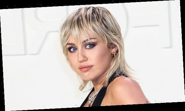 Miley Cyrus Rocks Blue Crop Top & Short Shorts For Sexy Mirror Pic After Gushing About Being Single