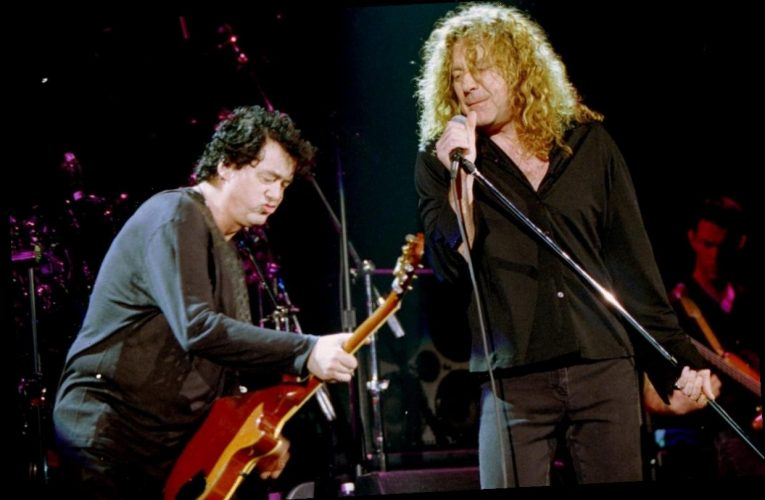 The Last Time Led Zeppelin's Jimmy Page and Robert Plant Played Together