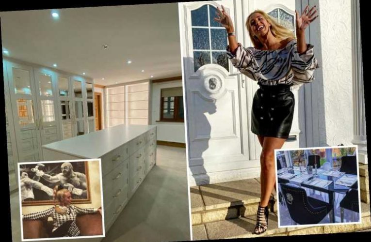 Inside Paris Fury's glam home with Kardashian-style walk-in wardrobe, Versace decor and a shrine to boxer husband Tyson