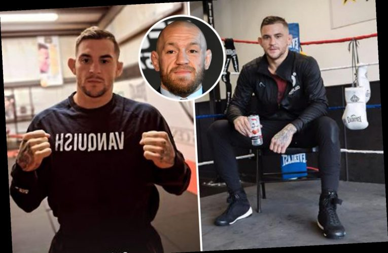 Dustin Poirer returns to training as blockbuster Conor McGregor trilogy fight looms after stunning UFC 257 win