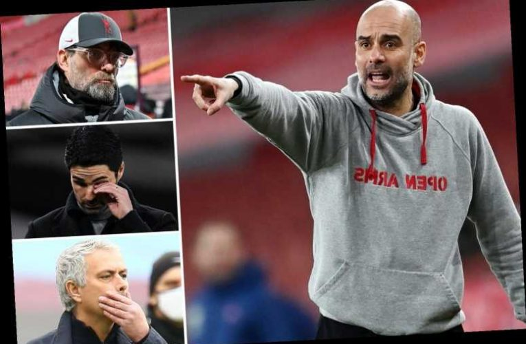 Man City have more 2021 points than Liverpool, Arsenal and Spurs COMBINED as Guardiola lauds best side yet