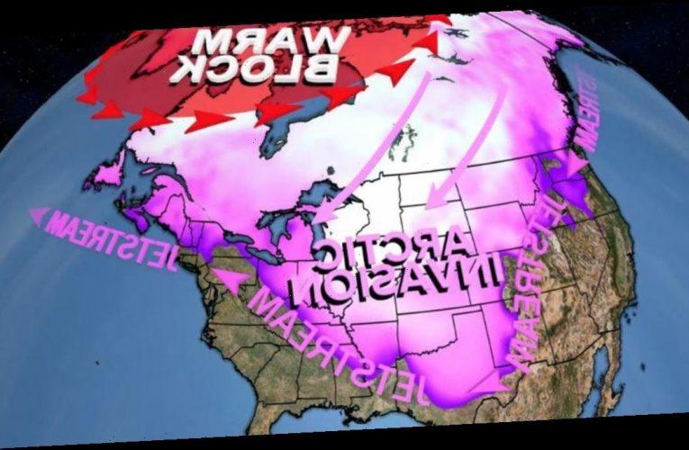 Polar vortex to unleash frigid Arctic blast