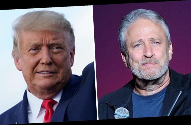 'President' Jon Stewart mocks Trump's resignation from Screen Actor's Guild