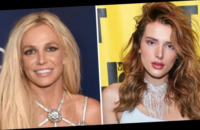 Bella Thorne condemns 'disgusting' treatment of Britney Spears, says 'we're all part' of the problem