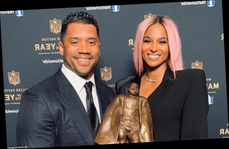 Ciara Gushes Over 'Loving' Husband Russell Wilson Following NFL Man of the Year Honor