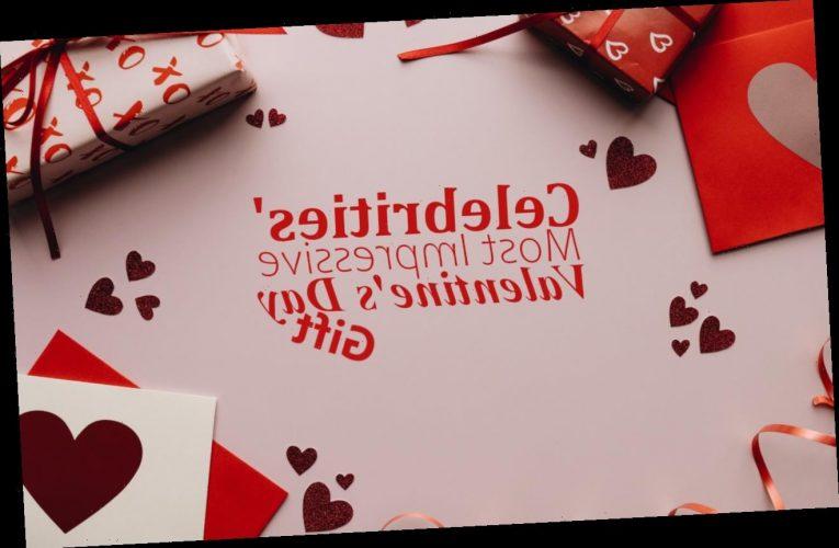 Celebrities' Most Impressive Valentine's Day Gifts