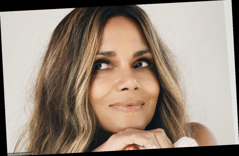 Halle Berry Celebrates Valentine's Day With Topless Dance Video