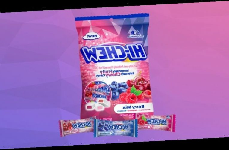 HI-CHEW Releases New Seasonal Berry Mix Flavor Series