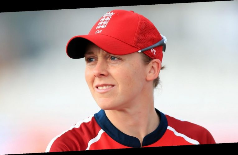 Heather Knight relishing chance to play with England in stadium full of fans in New Zealand
