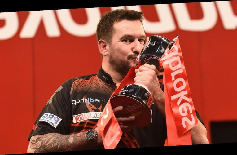 Jonny Clayton wins Masters title and place in 2021 Premier League Darts