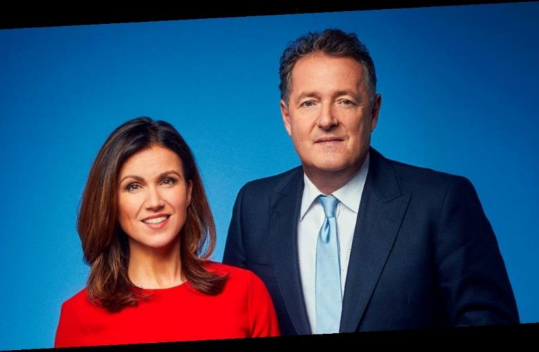 Piers Morgan snubs former co-star Susanna Reid as he says goodbye to GMB