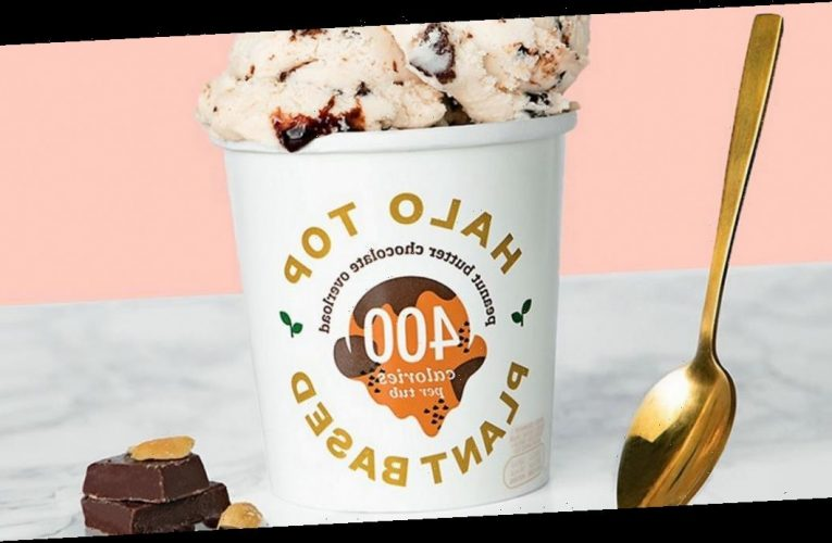 New plant-based chocolate and peanut butter ice cream is less than 400kcal a tub