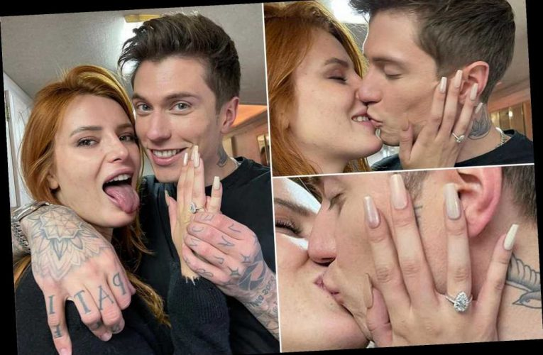 Bella Thorne is engaged to boyfriend Benjamin Mascolo