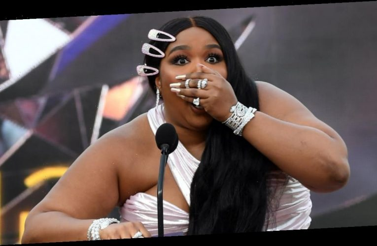 Lizzo Stressing Over Opening the Grammys Envelope Is Me Under the Slightest Bit of Pressure