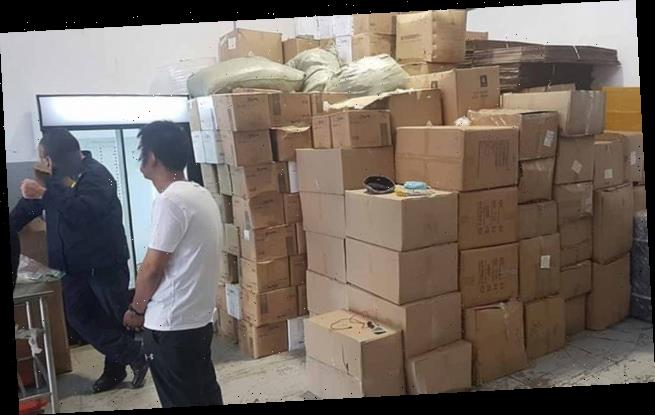 Thousands of FAKE Covid vaccines are seized in South Africa and China