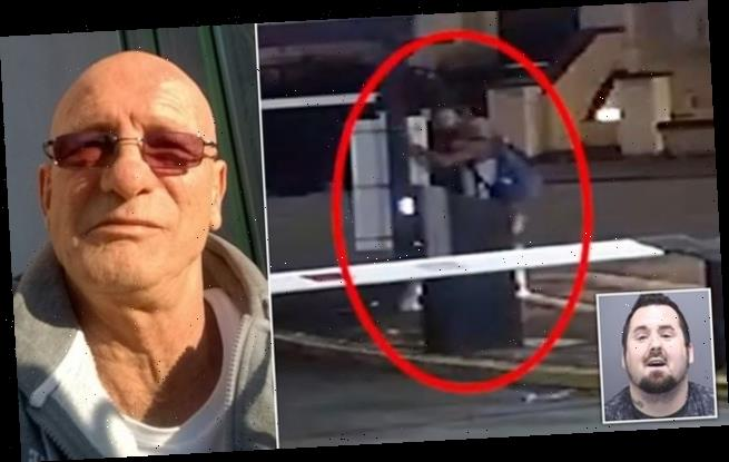 Sickening moment thug kills grandfather, 59, with one punch