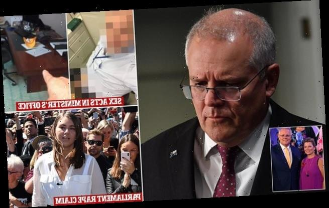 Morrison almost breaks down as he condemns Parliament House sex acts