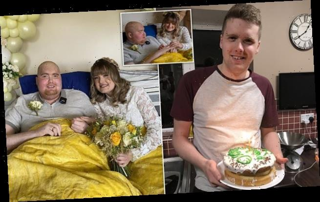 Student, 20, with days to live due to brain tumour marries girlfriend